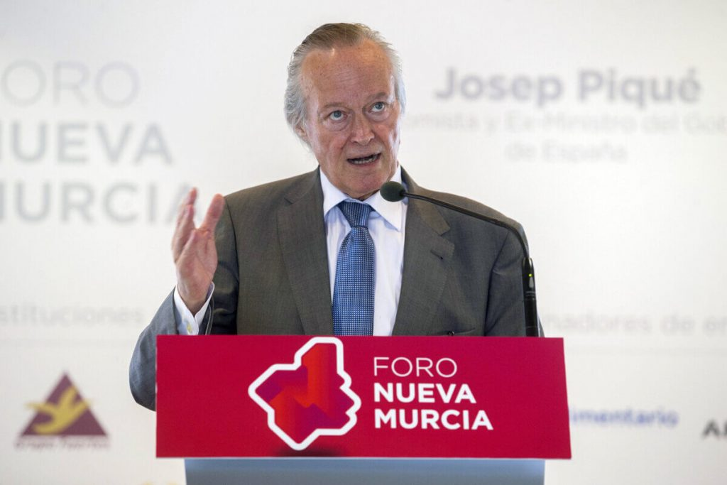 Foro Nueva Murcia, Josep Piqué